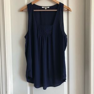 Daniel Rainn sleeveless top. Sz L.